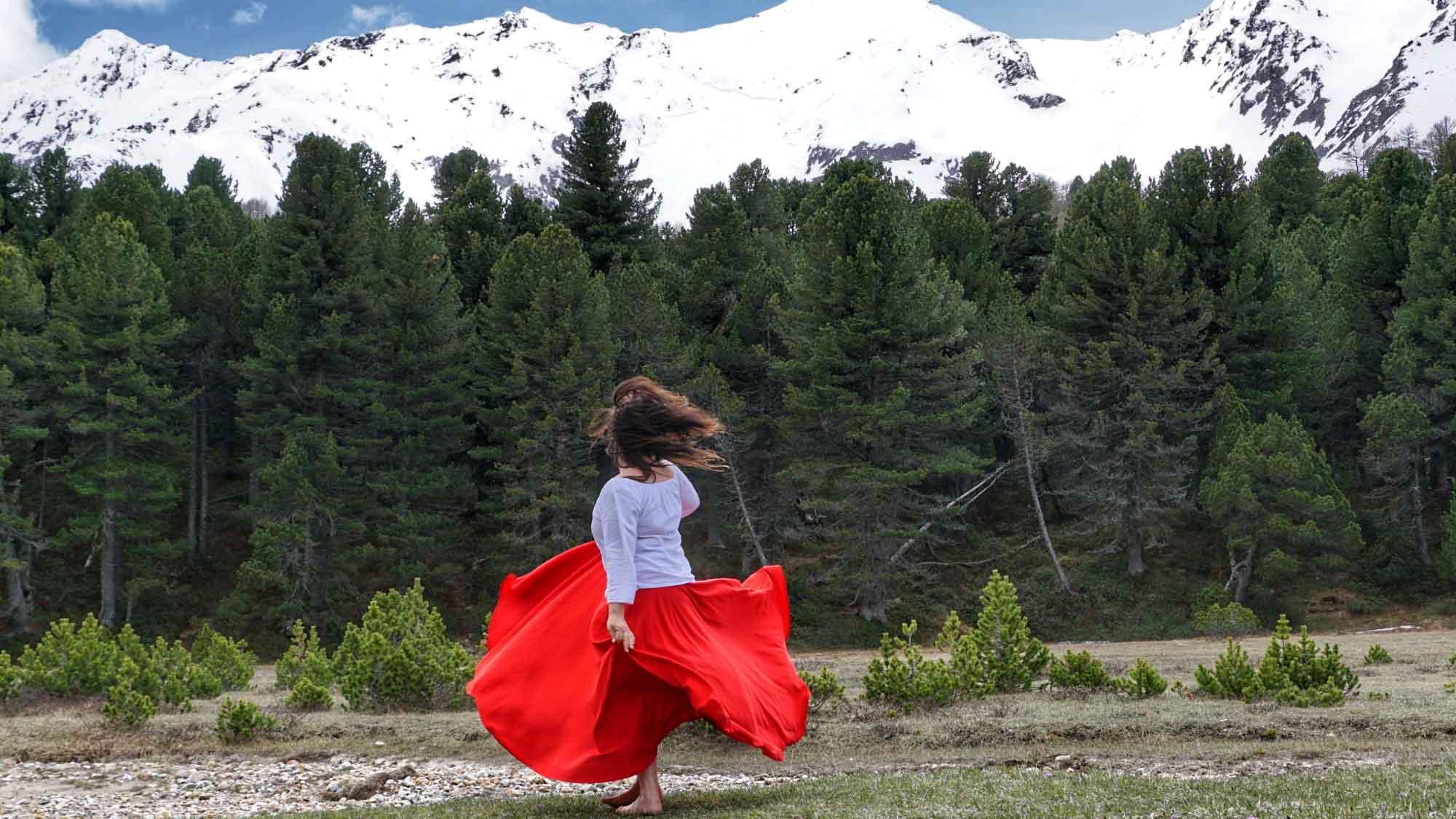Freies Tanzen mit Herz