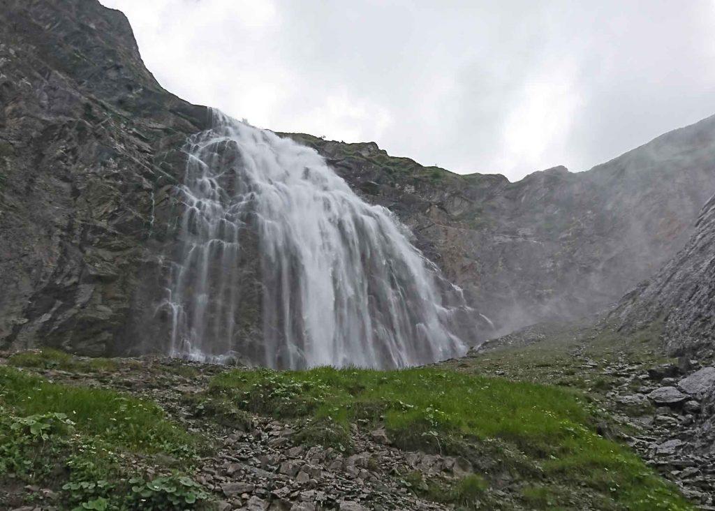 Begenung mit dem Wasserfall