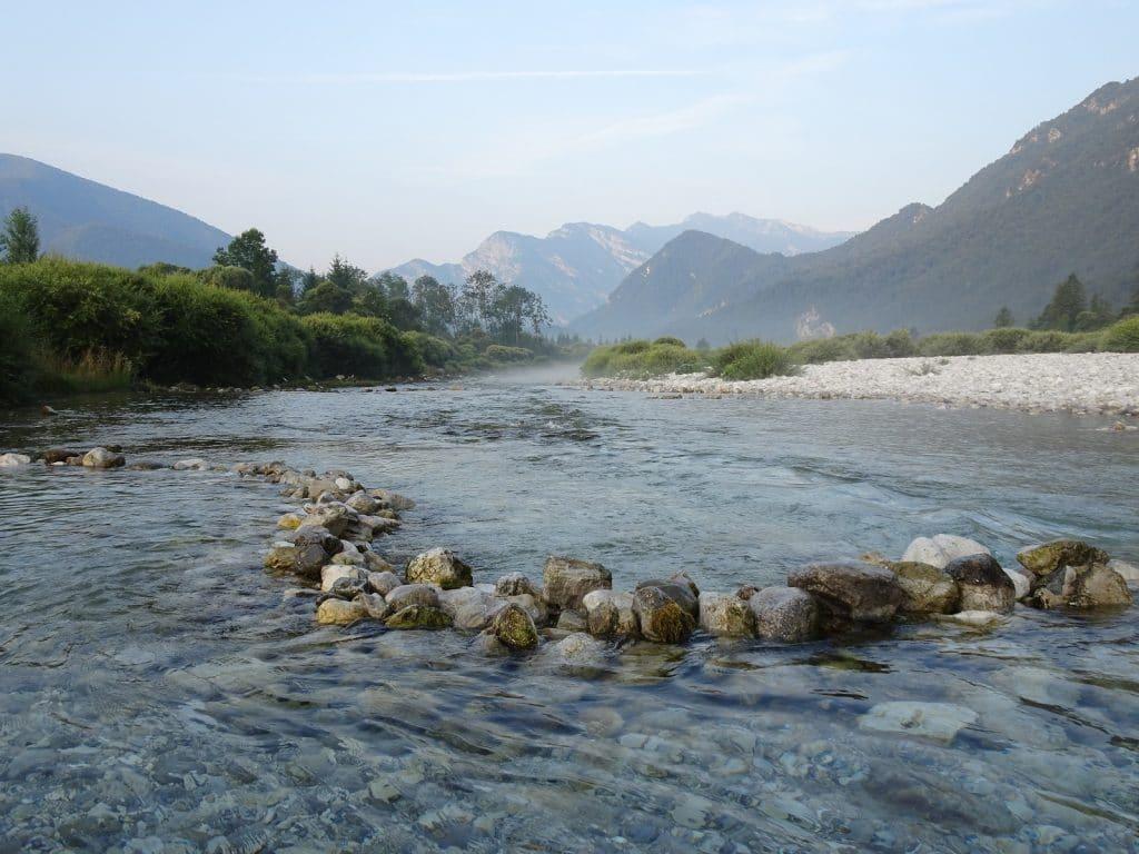 Fluss Friaulische Dolomiten Norditalien